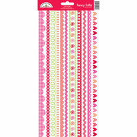 Doodlebug Design - Lovebugs Collection - Cardstock Stickers - Fancy Frills