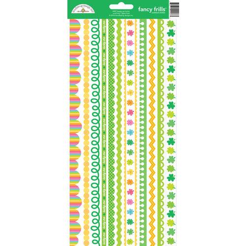 Doodebug Design Happy Go Lucky Cardstock Stickers Fancy Frills 4587