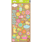 Doodlebug Design - Hello Sunshine Collection - Cardstock Stickers - Icons