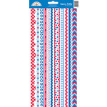 Doodlebug Design - Patriotic Picnic Collection - Cardstock Stickers - Fancy Frills