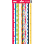 Doodlebug Design - Back to School Collection - Cardstock Stickers - Fancy Frills