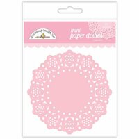 Doodlebug Design - Paper Doilies - Mini - Cupcake