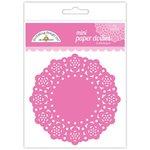 Doodlebug Design - Paper Doilies - Mini - Bubblegum