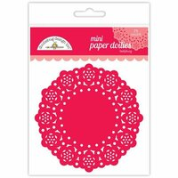Doodlebug Design - Paper Doilies - Mini - Ladybug