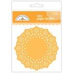 Doodlebug Design - Paper Doilies - Mini - Tangerine