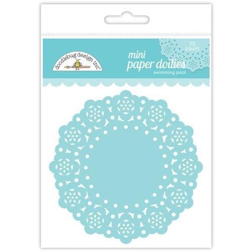 Doodlebug Design - Paper Doilies - Mini - Swimming Pool