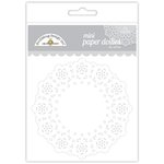 Doodlebug Design - Paper Doilies - Mini - Lily White