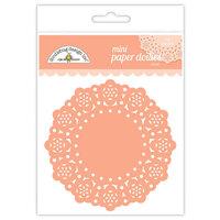 Doodlebug Design - Paper Doilies - Mini - Coral