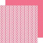 Doodlebug Design - Lovebugs Collection - 12 x 12 Double Sided Paper - Ladybug Parade