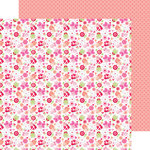 Doodlebug Design - Lovebugs Collection - 12 x 12 Double Sided Paper - Lovebugs