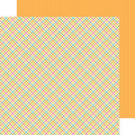 Doodlebug Design - Hello Sunshine Collection - 12 x 12 Double Sided Paper - Pretty Plaid