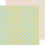 Doodlebug Design - Sun kissed Collection - 12 x 12 Double Sided Paper - Beach Party