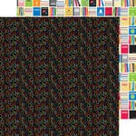 Doodlebug Design - Back to School Collection - 12 x 12 Double Sided Paper - Alphabet Soup