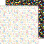 Doodlebug Design - Back to School Collection - 12 x 12 Double Sided Paper - Abc's
