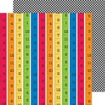 Doodlebug Design - Back to School Collection - 12 x 12 Double Sided Paper - School Rules