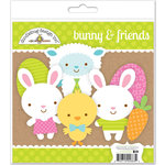 Doodlebug Design - Easter Parade Collection - Bunny and Friends Craft Kit