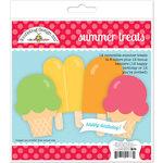 Doodlebug Design - Sun kissed Collection - Summer Treats Craft Kit