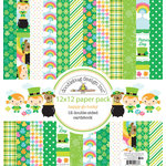 Doodlebug Design - Happy-Go-Lucky Collection - 12 x 12 Paper Pack