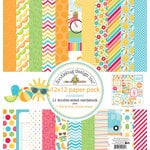 Doodlebug Design - Sun kissed Collection - 12 x 12 Paper Pack