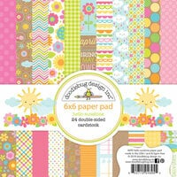 Doodlebug Design - Hello Sunshine Collection - 6 x 6 Paper Pad