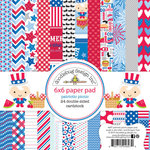 Doodlebug Design - Patriotic Picnic Collection - 6 x 6 Paper Pad