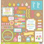 Doodlebug Design - Hello Sunshine Collection - 12 x 12 Cardstock Stickers - This and That