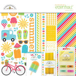 Doodlebug Design - Sun kissed Collection - Essentials Kit