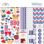 Doodlebug Design - Patriotic Picnic Collection - Essentials Kit