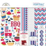 Doodlebug Design - Patriotic Picnic Collection - Essentials Kit