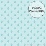 Doodlebug Design - Hello Sunshine Collection - Sprinkles Vellum - 12 x 12 Vellum - Raindrops