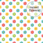 Doodlebug Design - Sun kissed Collection - 12 x 12 Vellum - Bitsy Blossoms