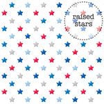 Doodlebug Design - Patriotic Picnic Collection - Sprinkles Vellum - 12 x 12 Vellum - Red, White and Blue