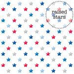 Doodlebug Design - Patriotic Picnic Collection - Sprinkles Vellum - 12 x 12 Vellum - Red, White and Blue