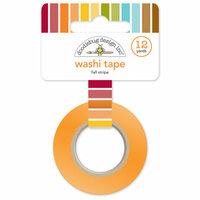 Doodlebug Design - Fall Friends Collection - Washi Tape - Fall Stripe