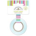 Doodlebug Design - Sugarplums Collection - Christmas - Washi Tape - Christmas Candy Stripe