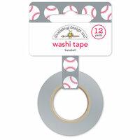 Doodlebug Design - Home Run Collection - Washi Tape - Baseball
