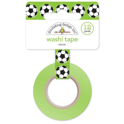 Doodlebug Design - Goal Collection - Washi Tape - Soccer