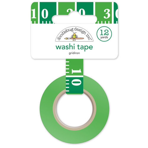 Doodlebug Design - Touchdown Collection - Washi Tape - Gridiron