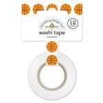 Doodlebug Design - Slam Dunk Collection - Washi Tape - Basketball