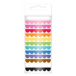 Doodlebug Design - Washi Tape - Scallop Assortment