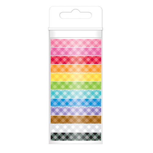 Doodlebug Design - Washi Tape - Gingham Assortment
