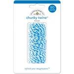 Doodlebug Design - Chunky Doodle Twine - Blue Jean