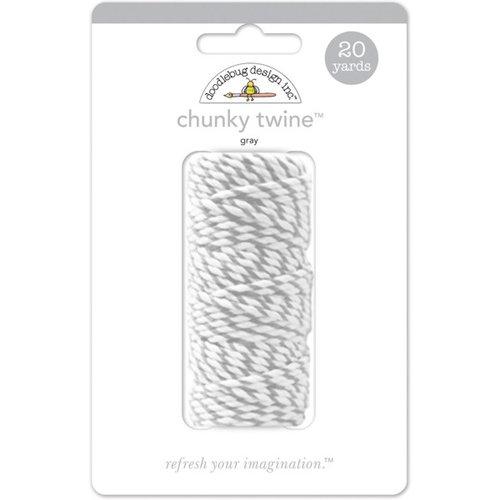 Doodlebug Design - Chunky Doodle Twine - Gray