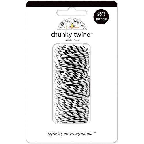 Doodlebug Design - Chunky Doodle Twine - Beetle Black