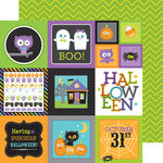 Doodlebug Design - October 31st Collection - Halloween - 12 x 12 Double Sided Paper - Bump in the Night