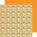 Doodlebug Design - Fall Friends Collection - 12 x 12 Double Sided Paper - Fall Foliage