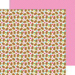 Doodlebug Design - Sugarplums Collection - Christmas - 12 x 12 Double Sided Paper - Jolly Gingerbread