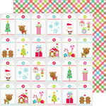Doodlebug Design - Sugarplums Collection - Christmas - 12 x 12 Double Sided Paper - All Wrapped Up