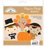 Doodlebug Design - Fall Friends Collection - Die Cuts Craft Kit - Pilgrim Party