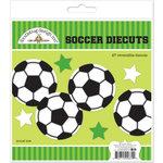 Doodlebug Design - Goal Collection - Die Cuts Craft Kit - Soccer